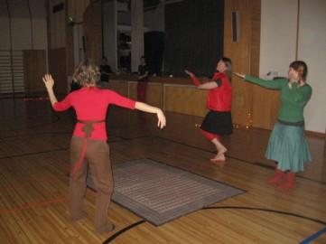 Jouluinen tanssikaraoke