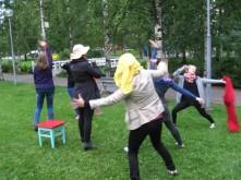 Tanssikaraoke Letkunpuistossa oli menestys!